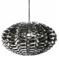 Normann Copenhagen Norm 03 Stainless Steel - Suspension Lamp on YOOX. The best online selection of Suspension Lamps Normann Copenhagen. Modern Lamp Shades, Modern Chandelier, Chandeliers, Design Light, Lighting Design, Accent Lighting, Lighting Ideas, Foto Zoom, Suspension Design