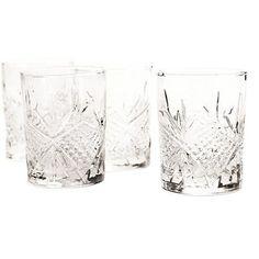 Krystalglas fra Base212. Populære og trendy støbte glas med krystal-look.