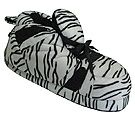 Snooki Signature Zebra Print Slippers