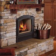 wood burning stove - efficient heat
