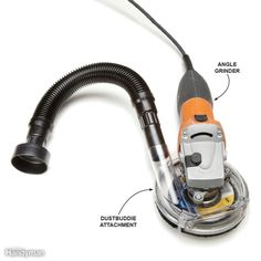 Angle Grinder Dust Catcher