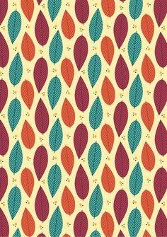 цвета, листья, узор