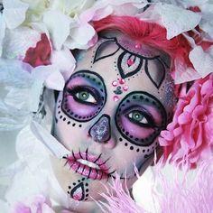 caveiras mexicanas maquiagem - Pesquisa Google