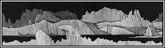 Wood engraving illustration by Barry Moser for Frankenstein.
