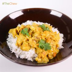 Clinton Kelly's Cashew Chicken #Curry #TheChew