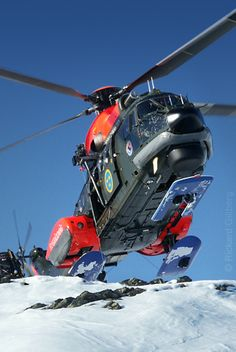 Heli on Skis
