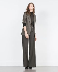 ZARA - WOMAN - HOUNDSTOOTH JACKET