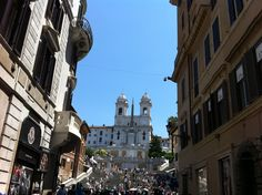 "Spagna!  The famous ""Spanish steps"", Roma"