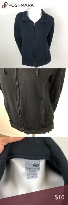 8fac0fef C9 by Champion Black Zip-Up Jacket C9 by Champion Size Medium Good Used  Condition