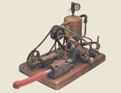 """One of the first steam-powered """"Manipulators"""", invented by Dr. George Taylor in 1869. Sold as medical devices to treat """"hysteria"""" in women. In other words, it's an antique dildo."""