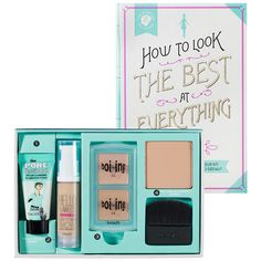 Benefit Cosmetics How To Look The Best At Everything: Complexion Sets | Sephora