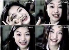 Jun Ji Hyun, Eyebrow Makeup, Actor Model, Vintage Girls, Aesthetic Girl, Kpop Girls, Pretty Girls, Cool Girl, Eyebrows