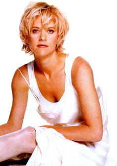 Ooooh!  i loved Meg Ryan's hair in the 80s and 90s!       short hair