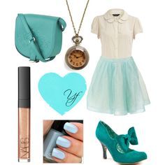 turquoise & soft   from polyvore.com