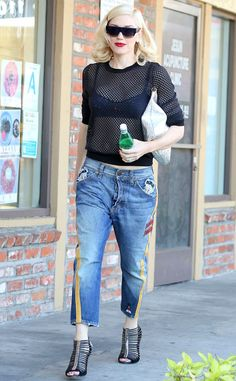 Gwen Stefani's Tuxedo Jeans: Gotta Have Them or Make Them Stop?