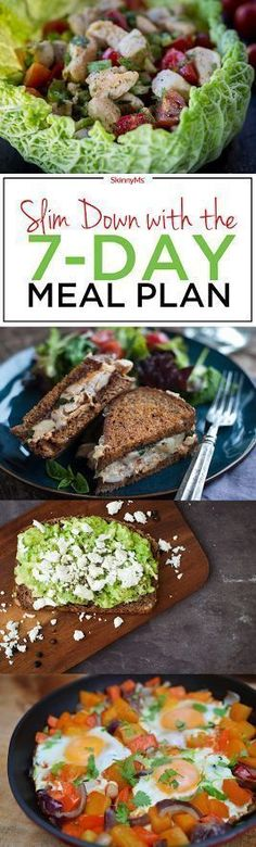 Slim Down with the 7-Day Meal Plan - Lets get started!