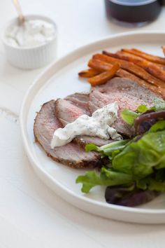 Roast Eye of Round Beef with Thyme and Rosemary — The Mom 100