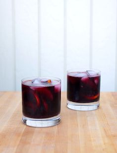 Burnt Sage and Blackberry Sangria