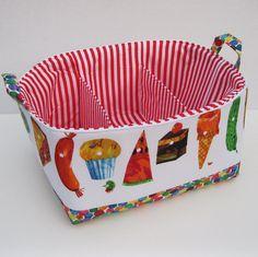 Diaper Caddy  Storage Container Organizer Bin Basket by BaffinBags, $52.00