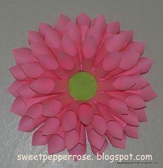 How to make big paper flowers createdbydiane crafts pinterest how to make big paper flowers createdbydiane crafts pinterest big paper flowers flowers and big mightylinksfo
