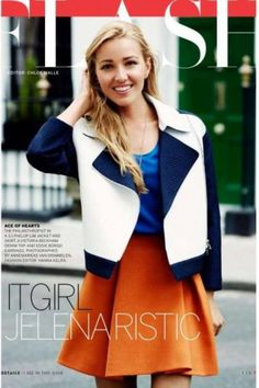 Jelena Ristic in Vogue Flash, September 2013 #TennisCouture #TennisFashion