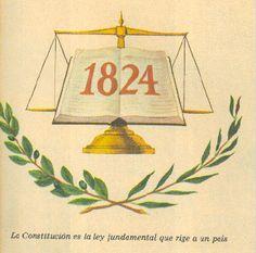 La Constitución de 1824.