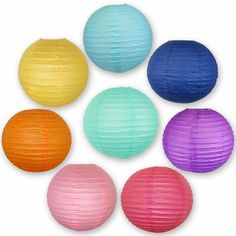 Just Artifacts Tropical Themed Paper Lantern Set Tropical Themed Set of 8 Chinese/Japanese Hanging Paper Lantern Decorations Paper Lanterns Perfect for Your Summer Pool Party! -- Continue to the product at the image link-affiliate link. White Paper Lanterns, Hanging Paper Lanterns, Paper Lantern Lights, Lantern Set, Festival Decorations, Lantern Decorations, Summer Pool Party, Pink Paper, Party Lights