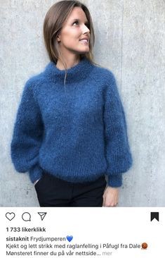 Diy And Crafts, Pullover, Knitting, Ravelry, Sweaters, Fashion, Blue Prints, Creative, Breien