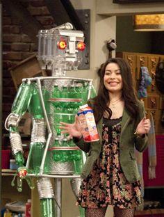 Carly, deixando o leite cair...
