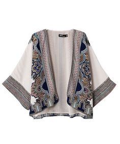 Send me a kimono jacket! This one is lined, so it would be good for fall. Kimono Fashion, Hijab Fashion, Boho Fashion, Womens Fashion, Fashion Design, Boho Outfits, Casual Outfits, Moda Kimono, Bohemian Style Clothing