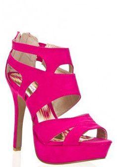 FAUX SUEDE PLATFORM CUT OUT BACK ZIPPER HIGH HEEL SANDAL-Heels-prom heels,high heels shoes,leopard heels,hot pink heels,cheap heels,party shoes heels,sexy heels,Platform Heels,high heel pumps,Wedge Heels,Flat Heels