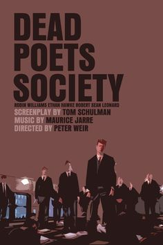 Dead Poets - the best movie to redefine the value of sensitivity