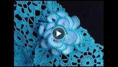 How to crochet a Rose Brooch - Diy & Crochet Addict Freeform Crochet, Crochet Motif, Crochet Designs, Crochet Stitches, Love Crochet, Diy Crochet, Irish Crochet, Lace Patterns, Crochet Patterns