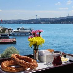 There is so much to see and do in enchanting #Istanbul. But before you embark on your adventure, start with a leisurely breakfast overlooking the #beautiful #Bosphorus. Your extraordinary #holiday begins here: http://slhr.hk/Escape15