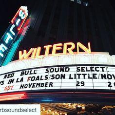 Let's do this #sonlittle #foals #la #rock