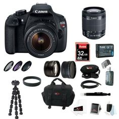 Canon EOS Rebel T5 DSLR Camera with EF-S 18-55mm IS II Lens kit - Walmart.com