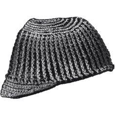 ISSEY MIYAKE MEN metallic coated beanie hat Issey Miyake Men 9b5f2af3397f