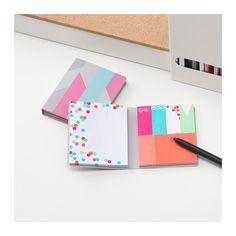 UPPFATTA Quaderno con foglietti adesivi  - IKEA 2.50 euro