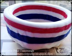 AMAZING Made in The U.S.A Inspired Bowl... by Michelle Frae Cummings