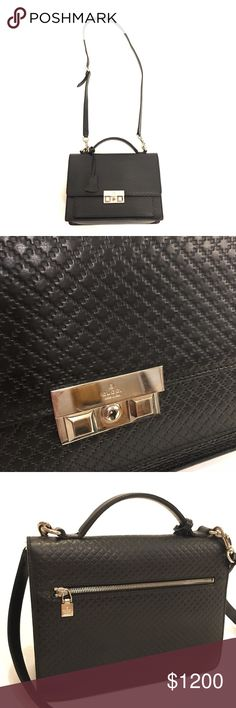 🎉HP Gucci Diamante leather crossbody MSRP $2220. 100% authentic Gucci 2-way  bag. Gorgeous and timeless piece. Removable strap. It has normal signs of use. Please check all the photos. Overall, it's in great condition. Item Name: Diamante 2way Business Bag Product No.223650 Date Code486628 Made inItaly Comes with Shoulder strap, Clochette Key. 🚫No trade. Gucci Bags Crossbody Bags