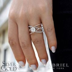 Have an idea for your engagement ring? Check out our new brand, Gabriel & Co. on our website to see the selection! . . . . . . . #spiritlakesilverandgold #engagementring #gabrielny | Spirit Lake Silver and Gold | Spirit Lake, Iowa | Okoboji, Iowa