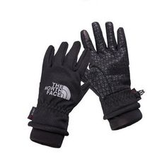 """The North Face """"Wind Stopper"""" Men's Gloves. These super comfortable and warm Thermal Gloves are windproof, waterproof and made for the outdoors. Stay warm while"""