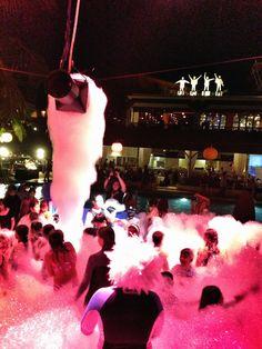 Foam Party - Hard Rock Hotel Bali