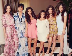 The Kardashian's and Jenners
