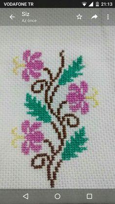 programe de broderie, motive f Cross Stitch Heart, Cross Stitch Flowers, Embroidery Patterns, Cross Stitch Patterns, Bargello, Crochet Designs, Needle And Thread, Cross Stitching, Needlework