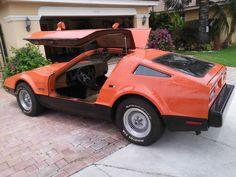 1975 Bricklin SV-1 classic sport car for sale: photos, technical specifications, description