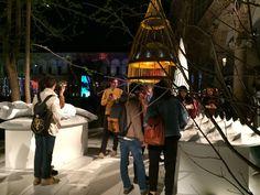 Digital Lithic Design by night, la mostra di Marmomacc 2015 per il FuoriSalone. Realizzata nell'ambito della mostra-evento Energy for Creativity - organizzata da Interni Magazine. Le opere Bicefalo e Carapace. Scopri di più: goo.gl/mgFcL0!