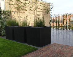 Kunststof plantenbak 'Carré' 70x70x70 cm