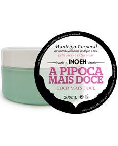 Verniz de Luxo - Inocos manteiga corporal enriquecida com óleos de argan e soja 200ml. Indicado para peles secas e extra secas.