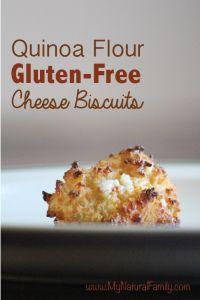 Quinoa Flour Gluten-Free Cheese Biscuits